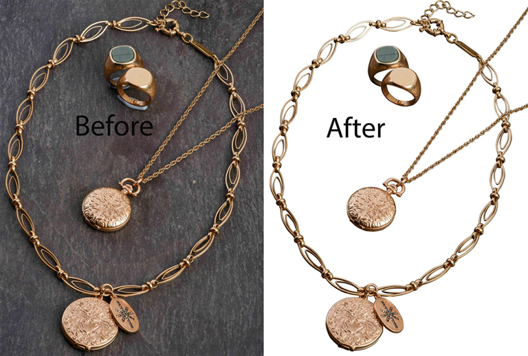Jewelry Photo Editing Service