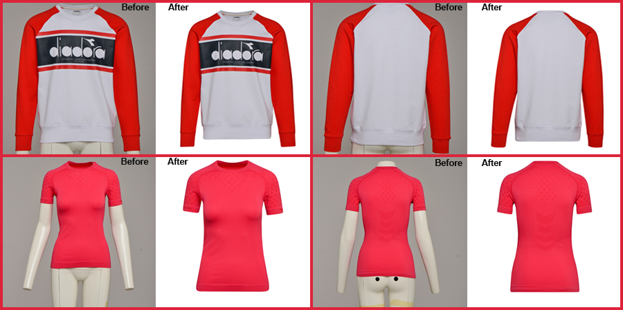 Apparel Photo Retouching Services and Photo Editing Service