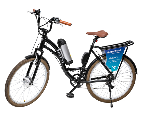 cycle image after clipping path in a white background