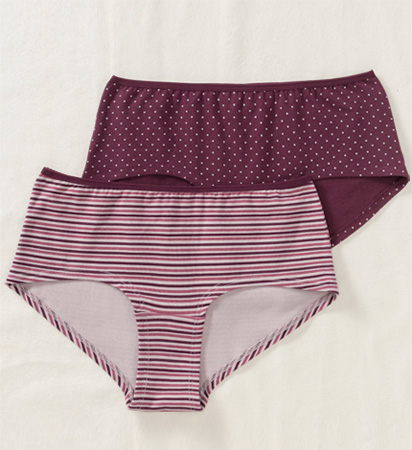 Color full Women's underwear before remove background from image