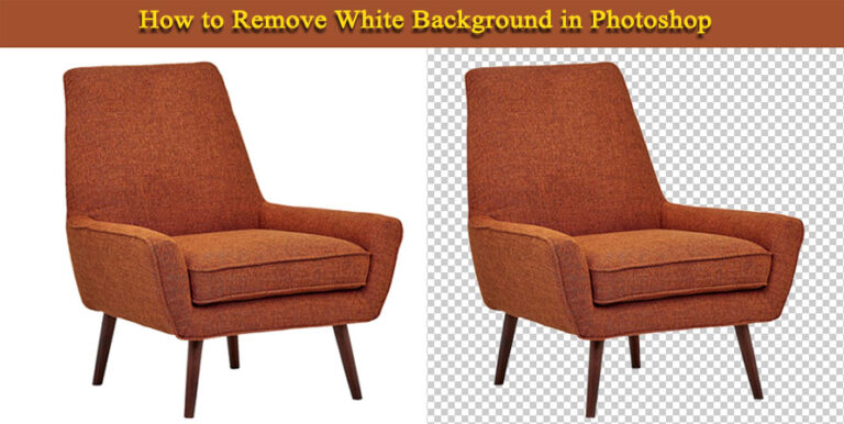 featured image of how to remove white background photoshop