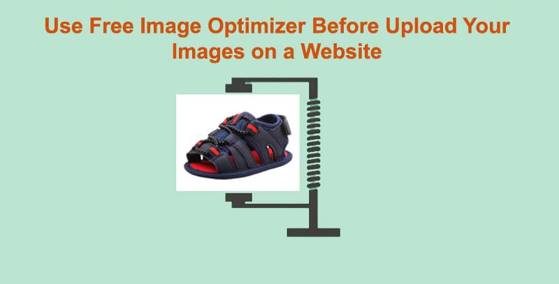 Use image compressor before upload your images