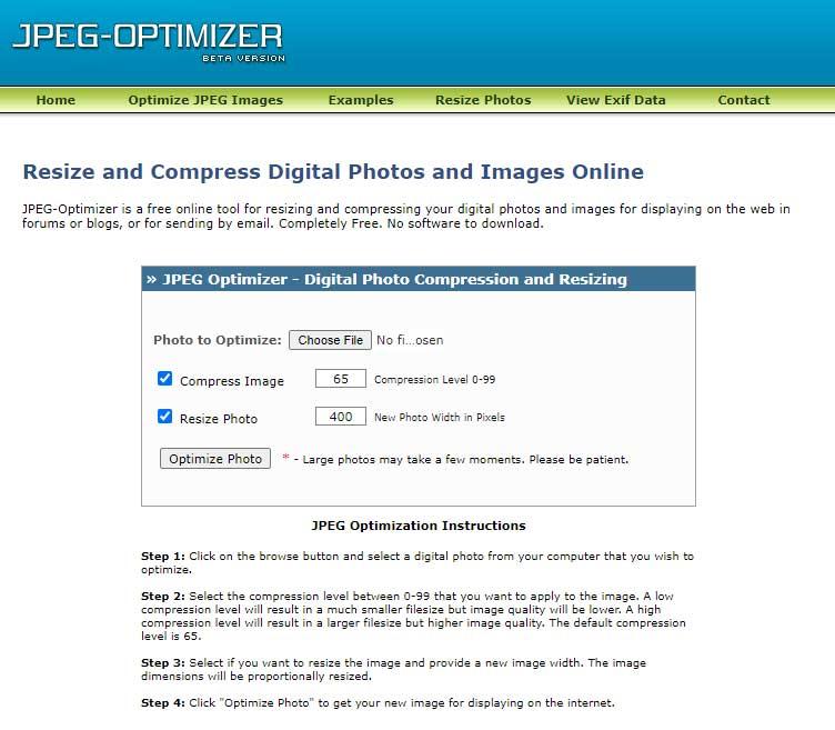 Best free image optimizer