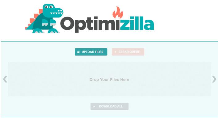 Optimizilla free image compressor