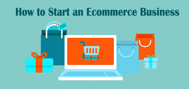cover photo of how to start an e-commerce business