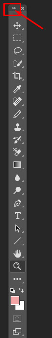 photoshop tools single column