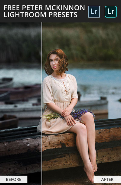 Before After Result of Peter McKinnon Presets free